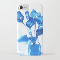 tulips iPhone & iPod Cases featuring Tulips by Zsofi Porkolab
