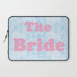 The Bride Pink & Blue Laptop Sleeve