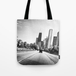 All Roads Leads to the City Tote Bag