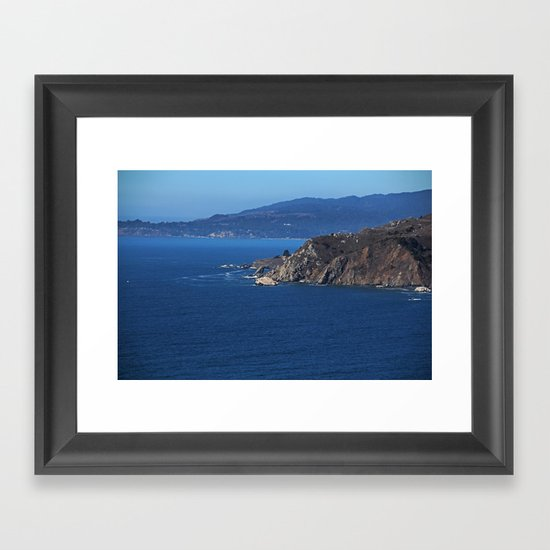 Watching the Wind Blow Framed Art Print