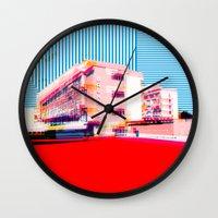 bauhaus Wall Clocks featuring Bauhaus · Das Bauhaus 6 by Marko Köppe