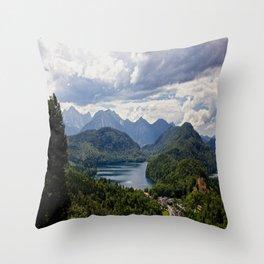 Bavaria, Germany Throw Pillow