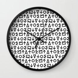 Graffiti Repeat Wall Clock