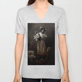 Like Lambs to the Slaughter Unisex V-Neck