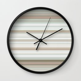 Classic stripes pattern Wall Clock