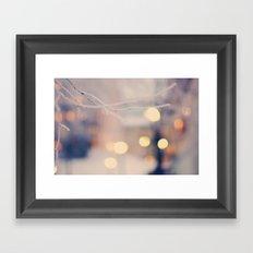 believing in magic Framed Art Print