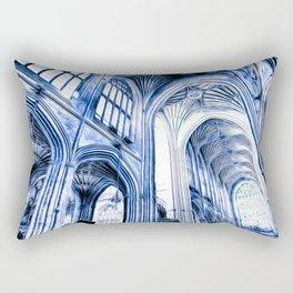 The Blue Abbey Rectangular Pillow