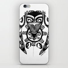 Raven Steals the Sun iPhone & iPod Skin