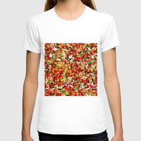 candy T-shirts featuring candy by bugo