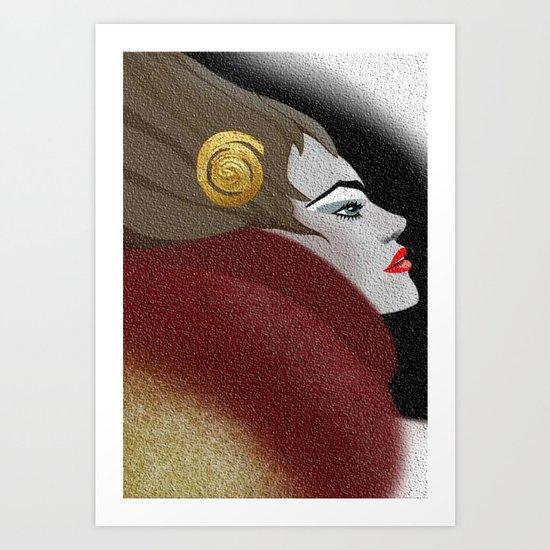 The Fur Art Print