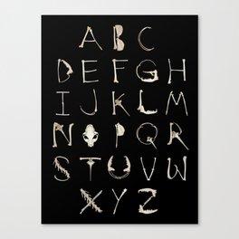 Alphadeath Canvas Print