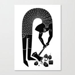 logger Canvas Print