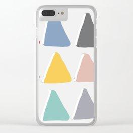 Light Bright Pyramid Scheme Clear iPhone Case