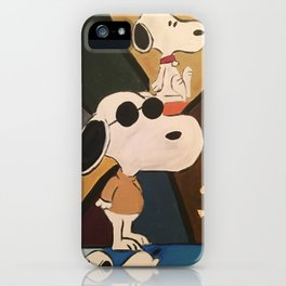 Joe Cool iPhone Case