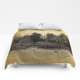 old landscape Comforters