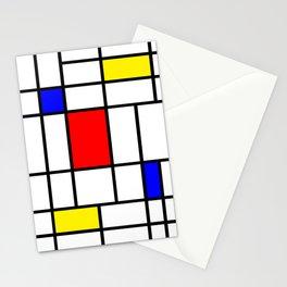 Mondrian #63 Stationery Cards