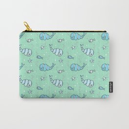 Whirly Whales and Funny Fish Carry-All Pouch