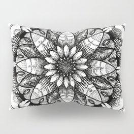 Flower Mandala Pillow Sham