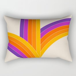 Bounce - Rainbow Rectangular Pillow
