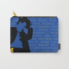 WILLIAM SAROYAN - Armenian Genocide Carry-All Pouch