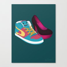 Shoe Lovin' Canvas Print