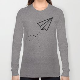 Paper Plane Long Sleeve T-shirt