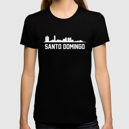 Santo Domingo Dominican Republic Skyline Cityscape T-shirt