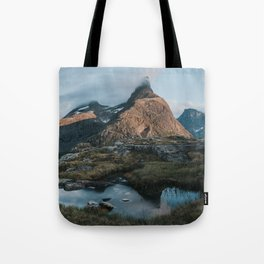Romsdalshorn - Landscape and Nature Photography Tote Bag