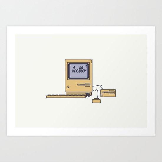Macintosh Art Print