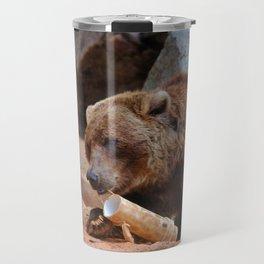 Teddy Bear At Play Travel Mug
