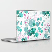 bees Laptop & iPad Skins featuring Bees by rudziox