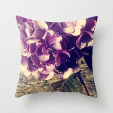 Purple Index Throw Pillow