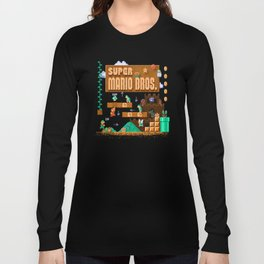 Mario Super Bros Long Sleeve T-shirt