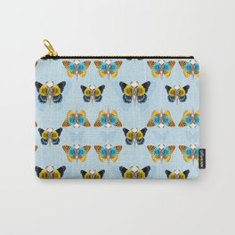 Bird skull pattern Carry-All Pouch