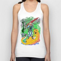jake Tank Tops featuring Finn & Jake by Rob S