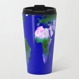 World Map : Gall Peters Travel Mug