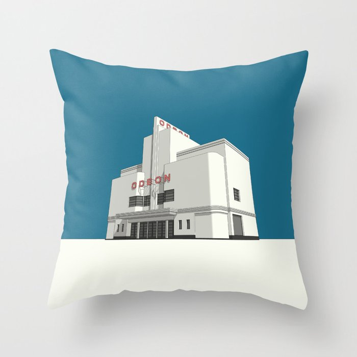 ODEON Balham Throw Pillow
