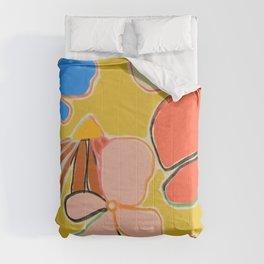 VINTAGE GARDEN YELLOW Comforters