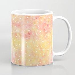 Peach Melon Dots Coffee Mug