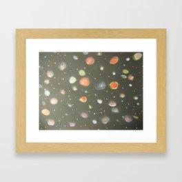 Galaxy's  Framed Art Print