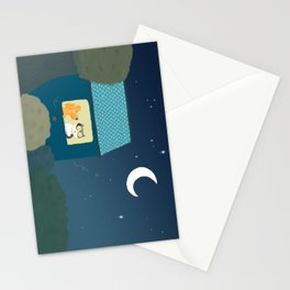 Dharma & Maya are dreaming Stationery Cards