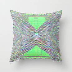 The Green Ex Throw Pillow