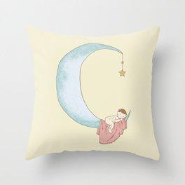 Moon Sleeper 2 Throw Pillow