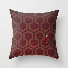 the Shining Rug & Room 237 Throw Pillow