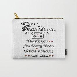 Dear music Carry-All Pouch