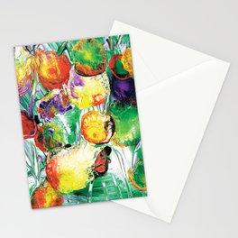 Dahlia Flowers Love the Sun 2 Stationery Cards