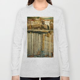 "Charles Rennie Mackintosh ""Rue du Soleil"" Long Sleeve T-shirt"