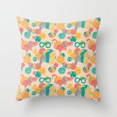 Tropicabana Throw Pillow