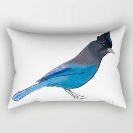 Steller's Jay Rectangular Pillow