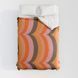 Retro Curves Comforters